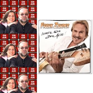 Roland Rube und Ariane Kranz On Air mit Frank Zander