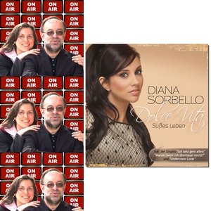 Roland Rube und Ariane Kranz On Air mit Diana Sorbello