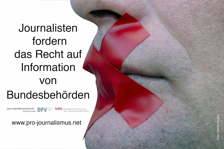 Petition – Journalistenzentrum Deutschland fordert Bundesgesetz zum Recht auf Informationen für die Presse