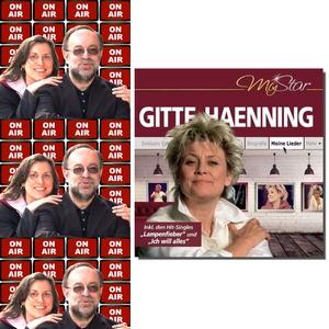 Roland Rube und Ariane Kranz On Air mit Gitte Haenning
