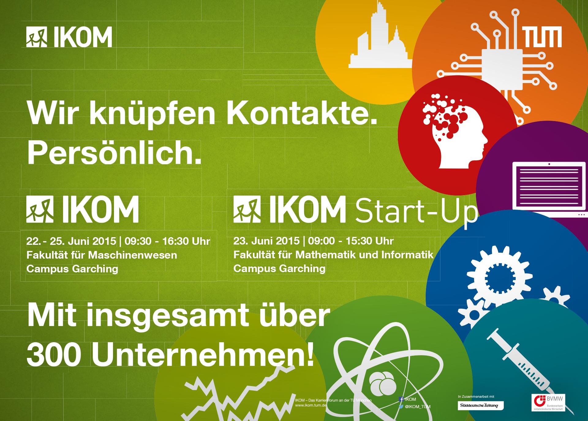 IKOM – Das Karriereforum an der TU München