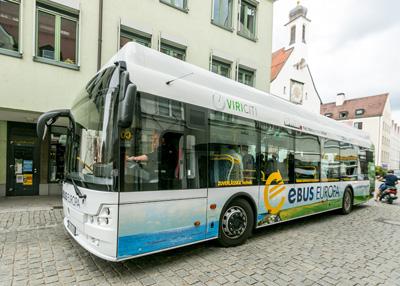 mona Verkehrsbetriebe testen E-Bus im Allgäu – für einen umweltfreundlichen Nahverkehr