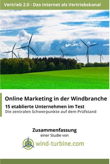 Online Marketing in der Windbranche – 15 Unternehmen im Test!