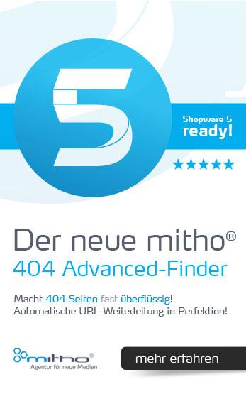 Shopware SEO Plugin: Automatische 404 URL-Weiterleitung