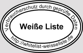 Weiße Liste im Internet