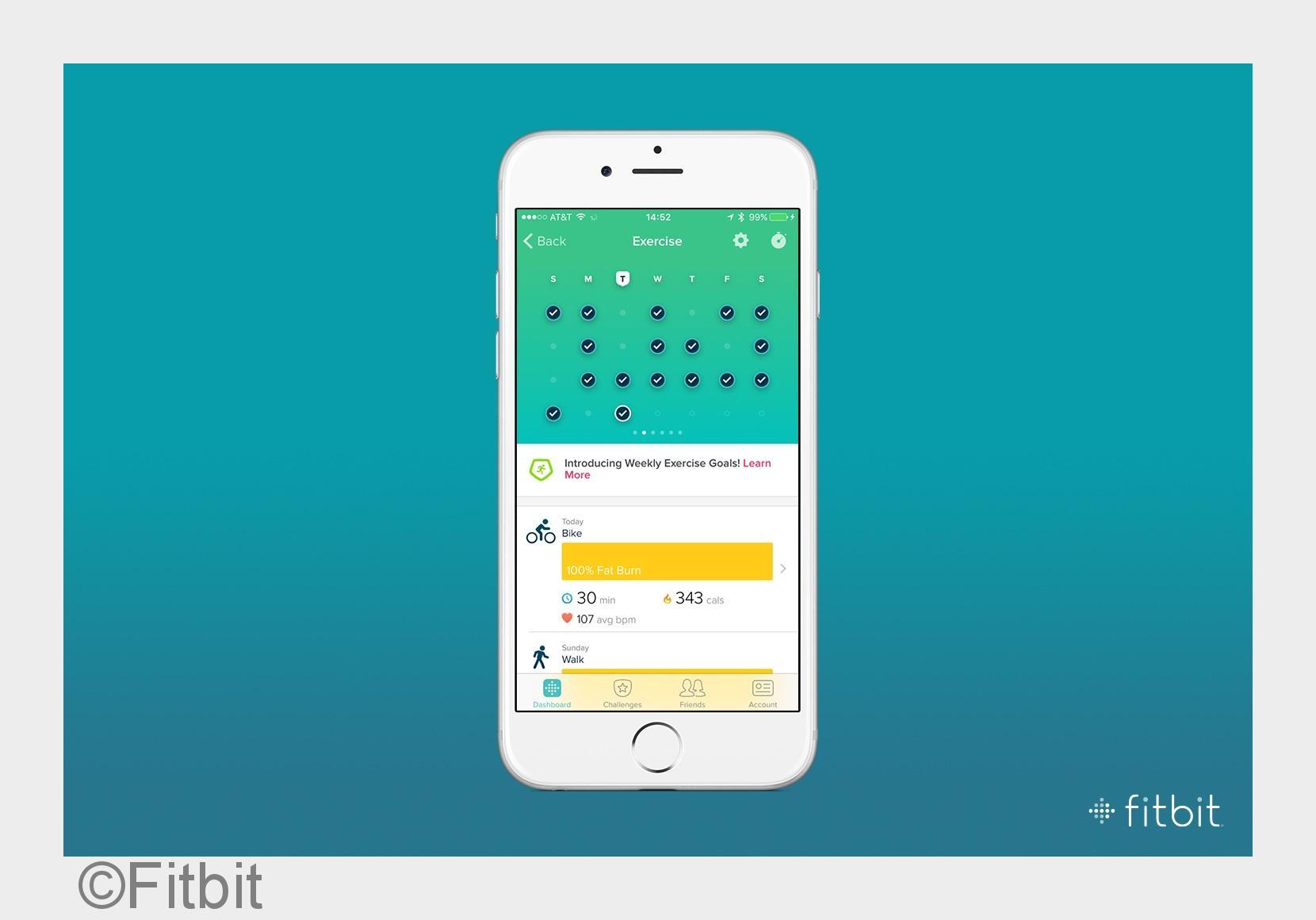 Fitbit perfektioniert seine Spitzenprodukte mit neuen Software-Funktionen