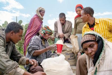 Spendenaufruf: 8,2 Millionen Menschen in #xC4thiopien von Hunger bedroht