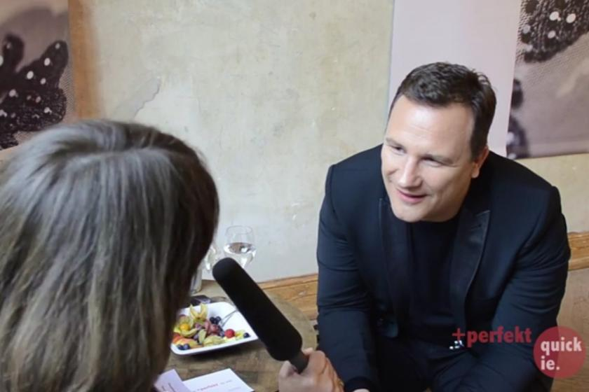 Interview: Guido Maria Kretschmer #xFCber Ponchos, Plus Size amp Puschelstrick