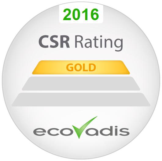 Lyreco erh#xE4lt CSR Gold-Auszeichnung von EcoVadis