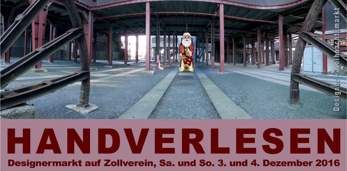 Handverlesen auf Zollverein: Der Winter-Weihnachtsmarkt hinter dem Fördergerüst am 2. Advent