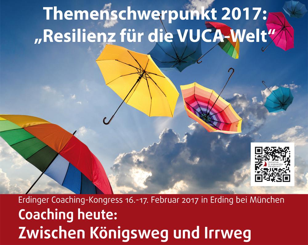 Resilienz im Zeitalter der Mobilität: Erdinger Coaching-Kongress 2017