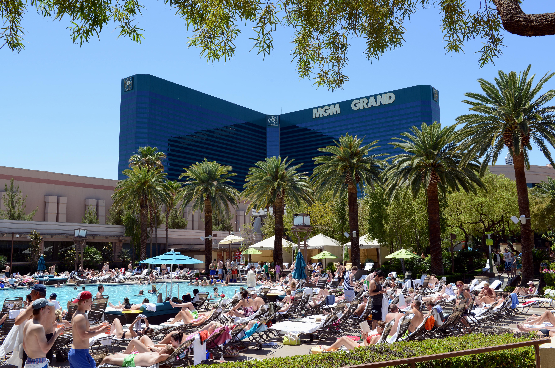 Eintauchen in die Pools von Las Vegas