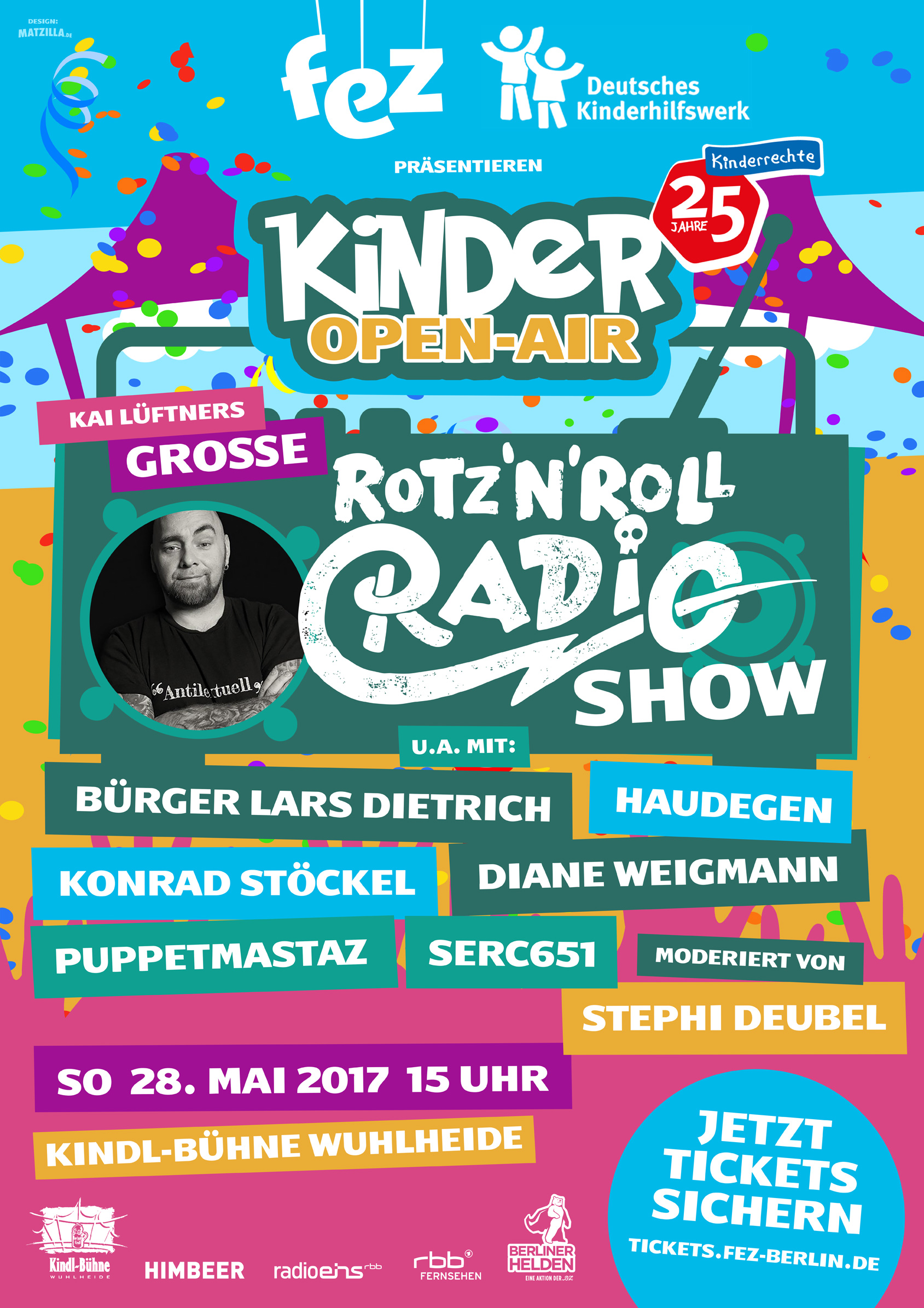 Erstes Kinder Open-Air in der Kindl-Bühne Wuhlheide!