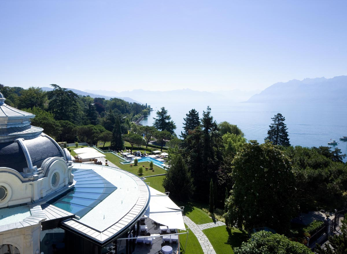Familienspass und Gourmet-Erlebnisse am Genfer See: Beau-Rivage Palace, Lausanne-Ouchy