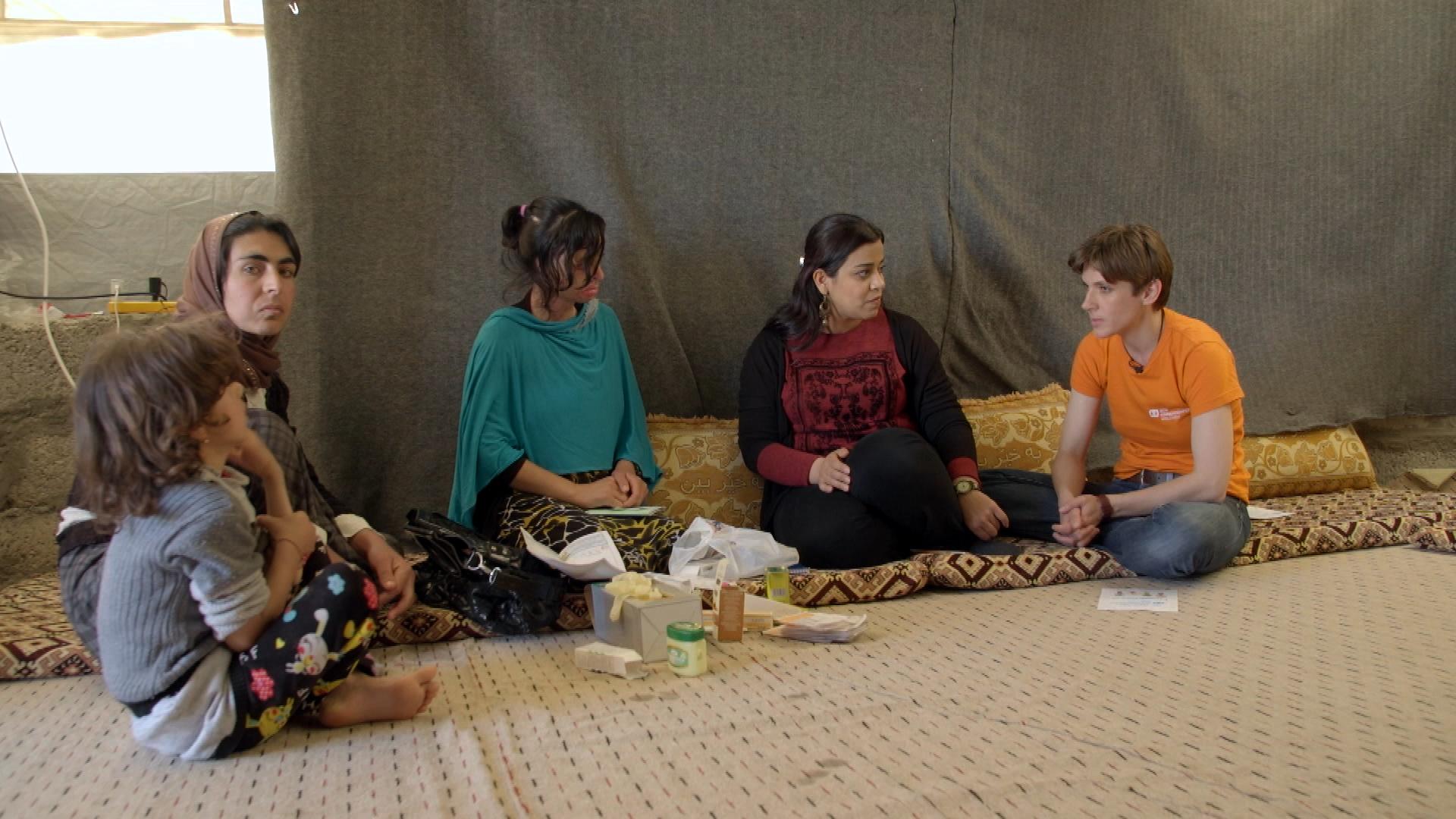 ?Nordirak: Häufige Selbstmorde unter jesidischen Frauen und Kindern / Nothilfe-Programm der SOS-Kinderdörfer