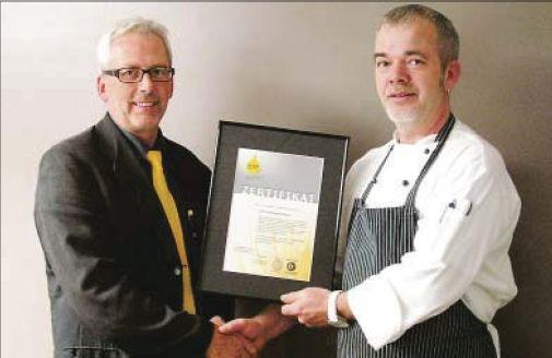 Auszeichnung für das Restaurant Ostfriesenhof