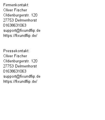 Immobilienhandel mit System (FIX UND FLIP)