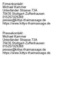 Rückenmassage bei Kittys Thai Massage in Stuttgart