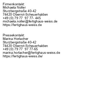 WEISS-Musterhaus Balance