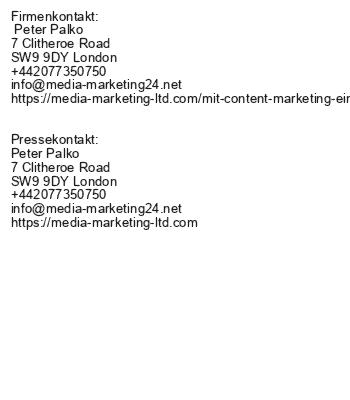 Mit Content-Marketing ein tolles Engagement erzielen