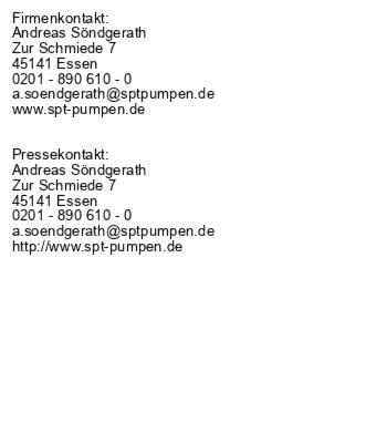 Neue Schlammpumpen-Baureihe von Söndgerath