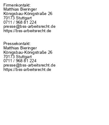 Arbeitsrecht und soziale Medien - Fakten aus Stuttgart