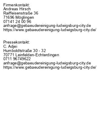Gebäudereinigung Ludwigsburg City - Professionelle Büroreinigung und vieles mehr