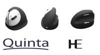 Quinta zum Weltlinkshändertag: HE Ergo Vertikal Maus für Linkshänder