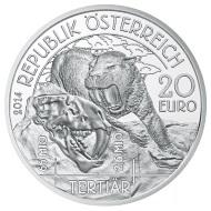Lebendige Urzeit: bei Münze Österreich bricht das Tertiär an