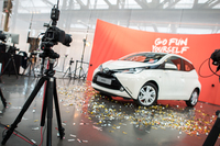 Mit 360ties emotion dreht sich alles um den neuen Toyota Aygo