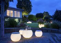 Zauberhafte Lichtinseln im Garten