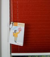 Kindersicherheit: Sensuna Kids Care für freihängende Plissees