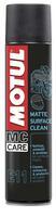 MOTUL MC Care Pflegeserie mit neuem Produkt: Trockenreiniger für Mattlacke und matte Folien