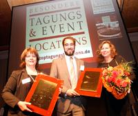 Top-Tagungslocations und Top-Eventlocations 2014 geehrt