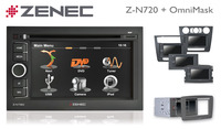 Navi-Nachrüsten leicht gemacht - mit Zenecs Z-N720 und OmniMask
