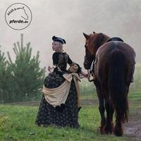 Gut geeignet: Barocke Eleganz und sportliche Finesse bei pferde.de