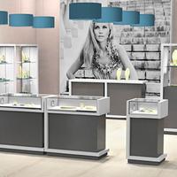 Innovative Vitrinen und Shop-in-Shop-Möbel