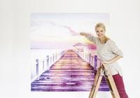 Die neue Wanddekoration Fotomosaik von ifolor eröffnet einzigartige Kreationswelten
