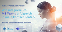 Traumpaar - Microsoft Teams mit Enghouse Contact Center