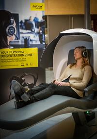 Jabra stattet MetroNaps EnergyPods mit Premium-Kopfhörer aus