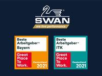 SWAN GmbH ist ein Great Place to Work®!