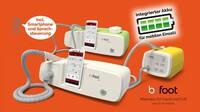 b-on-foot setzt neue Maßstäbe für mobile Pflegeeinsätze