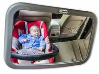 Sicherheit für Babys - Rücksitzspiegel sind sinnvoll