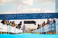 Borgo Egnazia Halbtriathlon - ein Debüt mit großem Erfolg