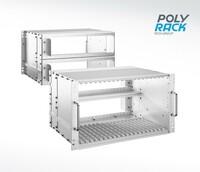 POLYRACK präsentiert hochbelastbare Gehäuse und Panel PCs für Bahnanwendungen