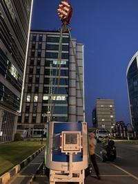 LANG liefert Maschine nach Ägypten und schult online