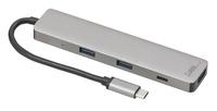 Callstel USB-Hub DeX Smartphone-PC-Adapter, USB C PD