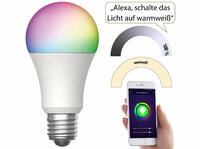 Luminea Home Control WLAN-LED-Lampe LAV-170.rgbw