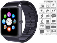 simvalley MOBILE Handy-Uhr & Smartwatch PW-460