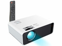 SceneLights LED-LCD-Beamer LB-9000 mit Mediaplayer